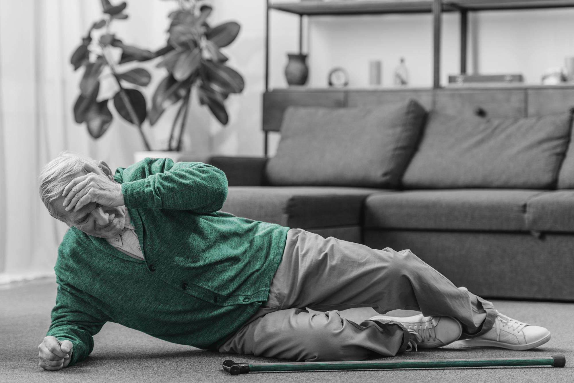Las caídas en las personas mayores: Prevención y actuaciones